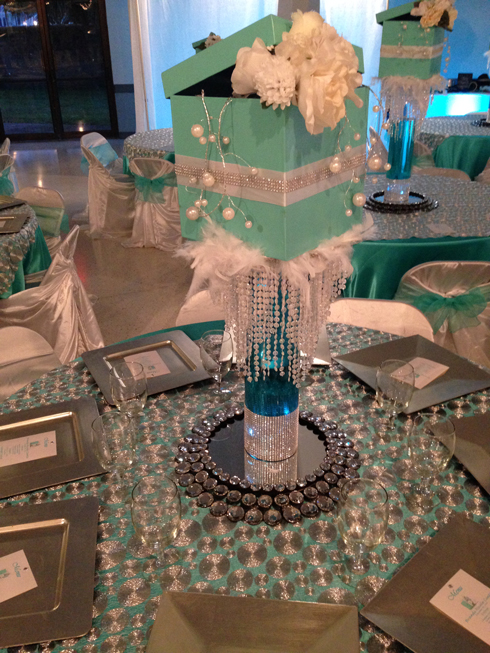 5768afe17f Deluxe Party Booth » Tiffany   Co. themed Quinceanera aka Brandi ...